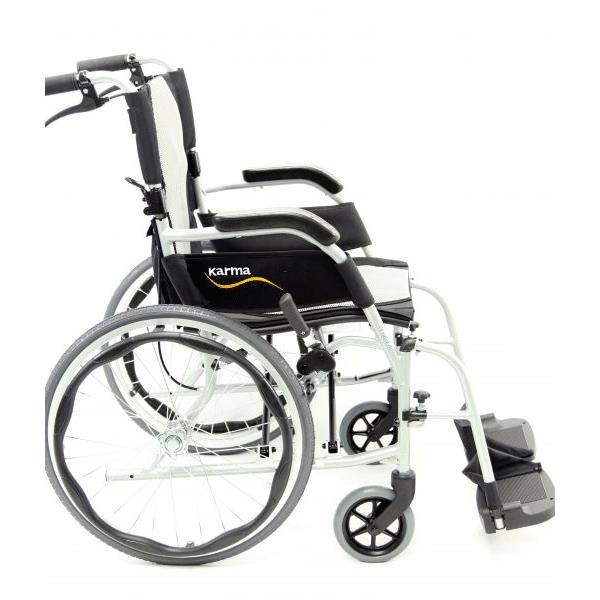 karman healthcare ergo flight s 2512 ultra lightweight manual wheelchair Wheelchair Headrest Mount side view of karman healthcare ergo flight s 2512 ultra lightweight manual wheelchair