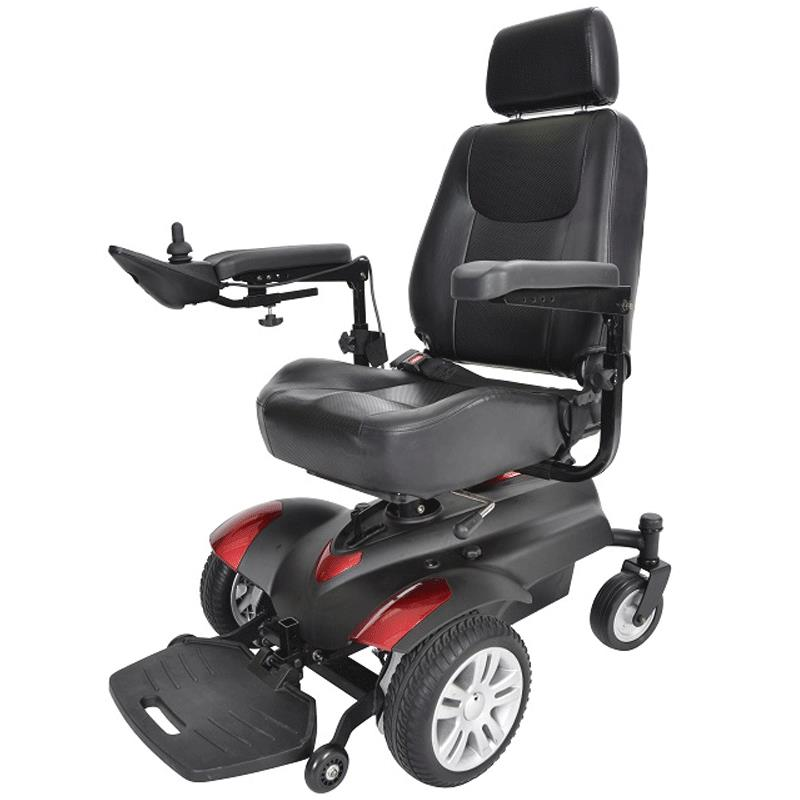 Drive titan p22 standard power wheelchair portable power Portable motorized wheelchair