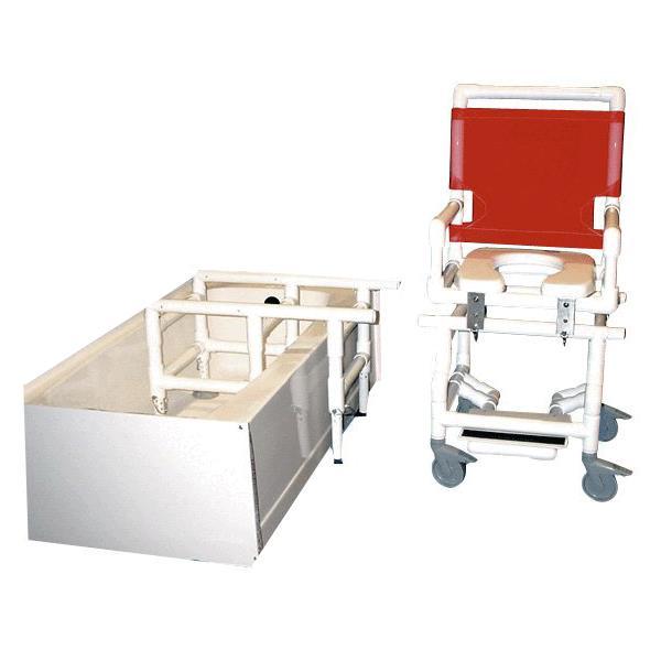 Fabulous Healthline Shower Commode Chair Transfer Slider Ncnpc Chair Design For Home Ncnpcorg