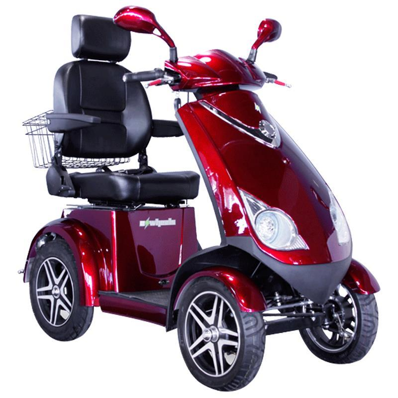 ewheels ew 72 four wheel heavy duty scooter with. Black Bedroom Furniture Sets. Home Design Ideas