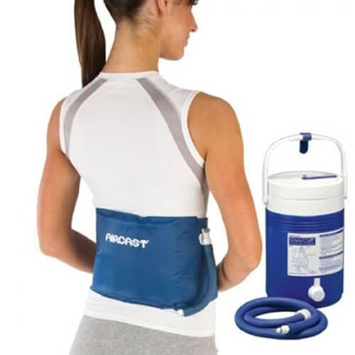 Aircast Backhiprib Cryocuff With Gravity Cooler Hotcold