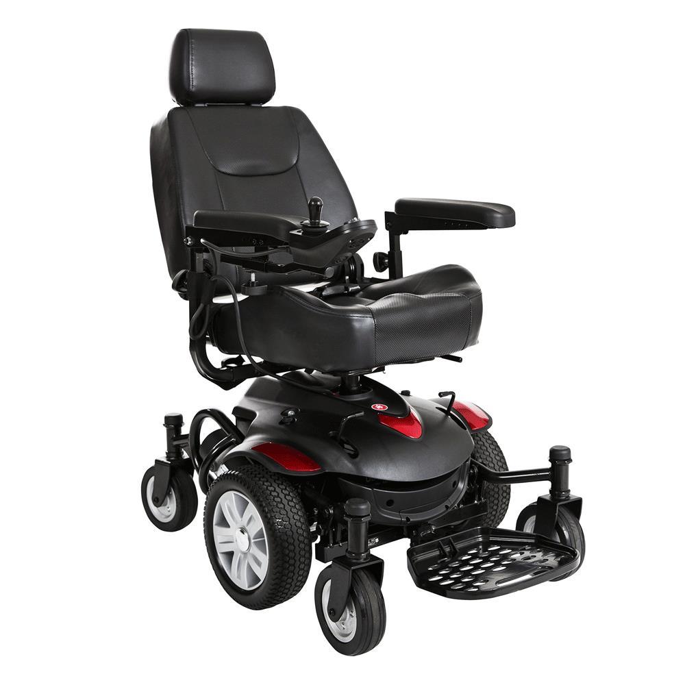 Drive Titan Axs Mid Wheel Drive Powerchair Travel