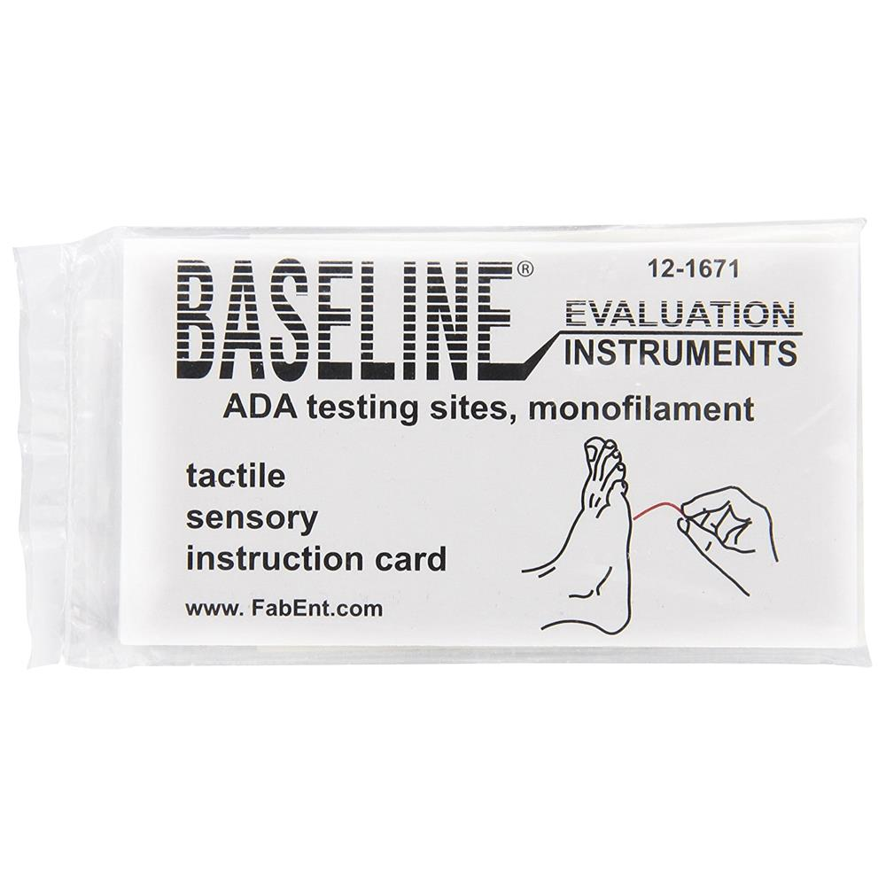 Baseline Tactile Disposable Monofilament Evaluator