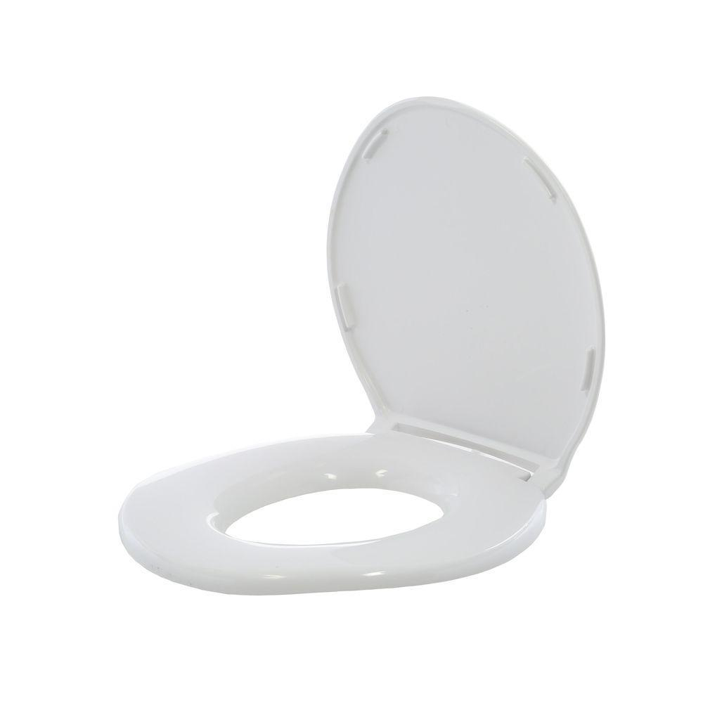 Big John Standard Closed Front Toilet Seat With Cover