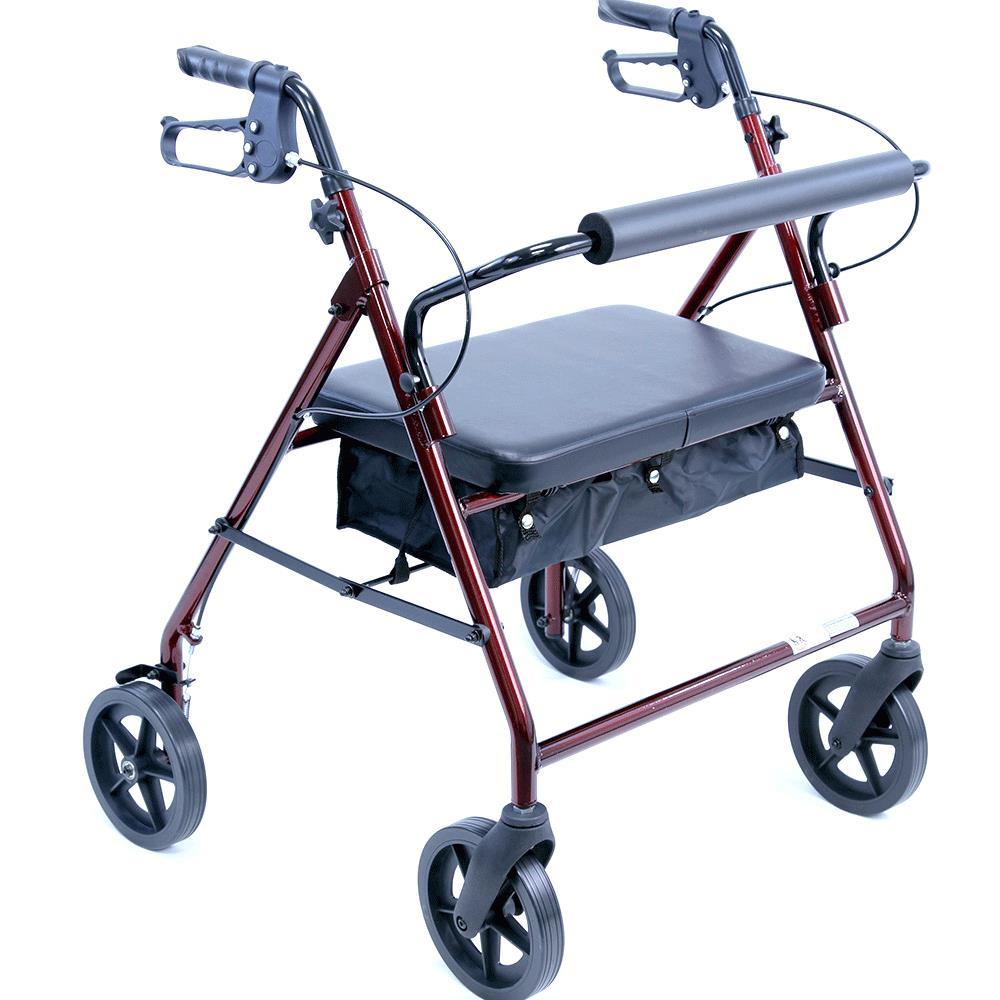 Karman Healthcare R-4800 Extra Wide Lightweight Aluminum Rollator ...