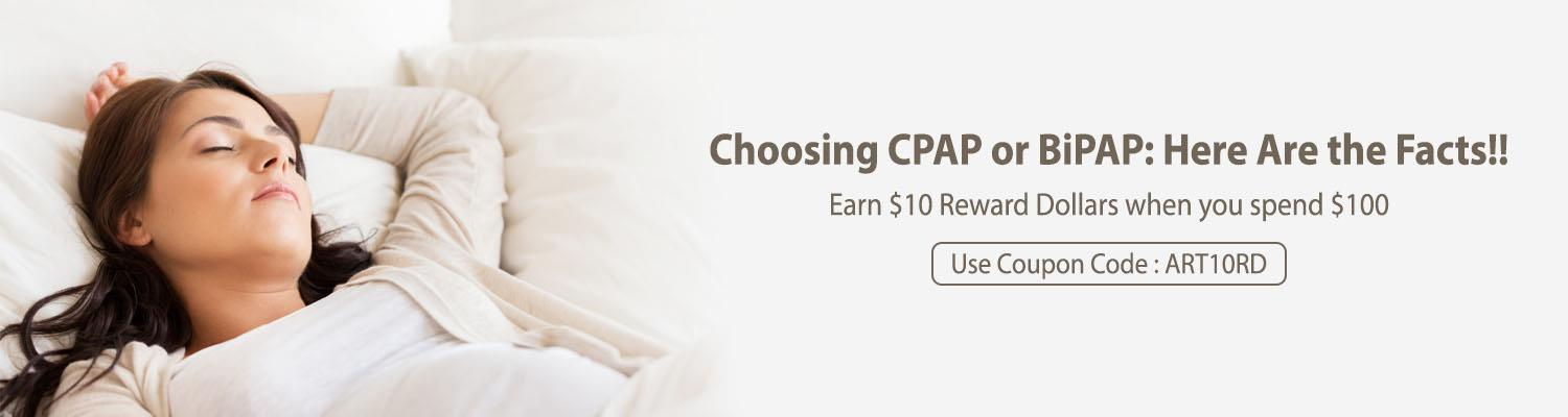 Choosing CPAP or BiPAP: Here Are the Facts!!