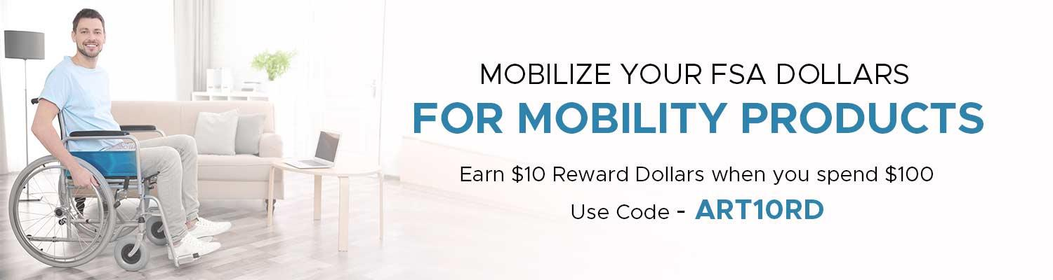 Mobilize Your FSA Dollars for Mobility Products