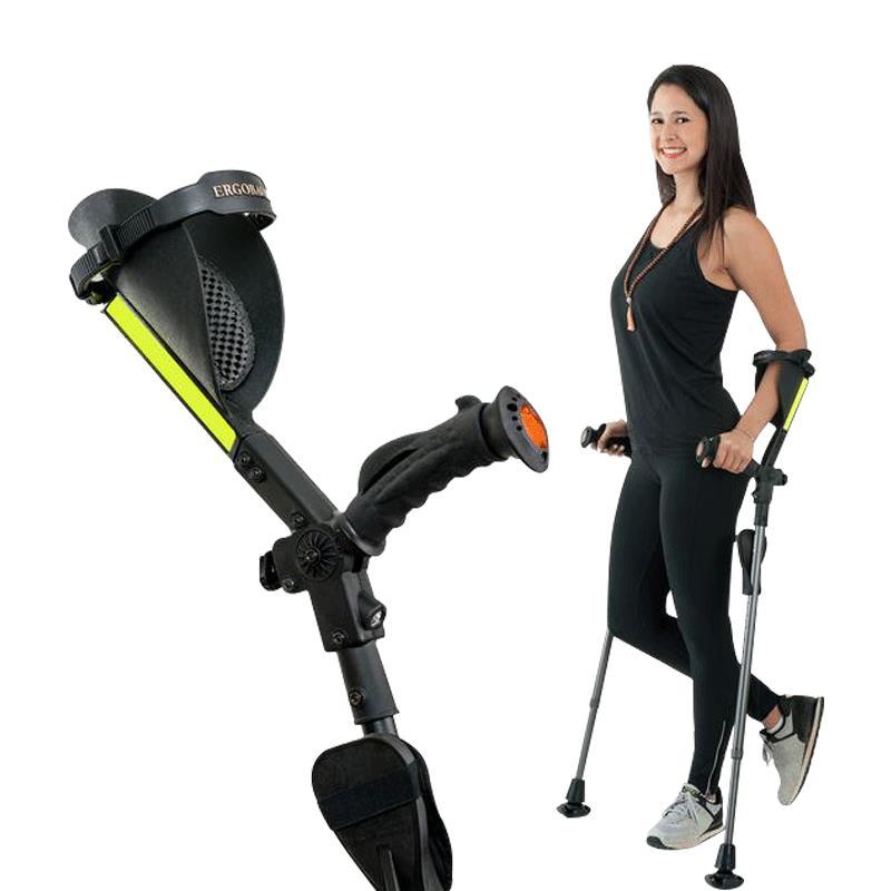 Ergoactives Ergobaum 7G Royal Ergonomic Forearm Crutches ...