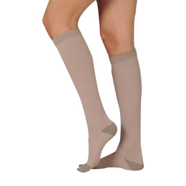 juzo silver soft knee high 20 30mmhg compression stockings stockings