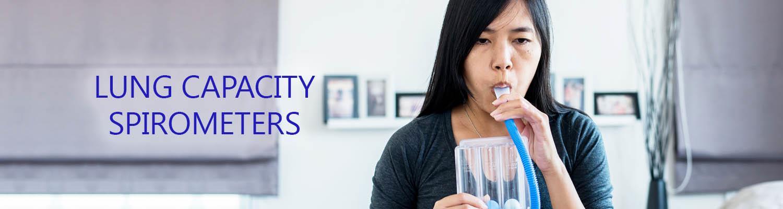 Lung Capacity – Spirometers