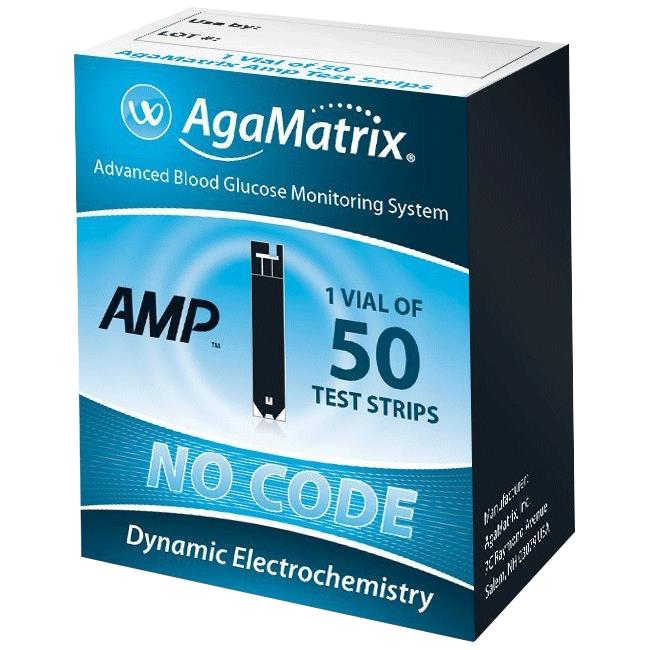 Agamatrix Wavesense Amp Test Strips Diabetic Assessments