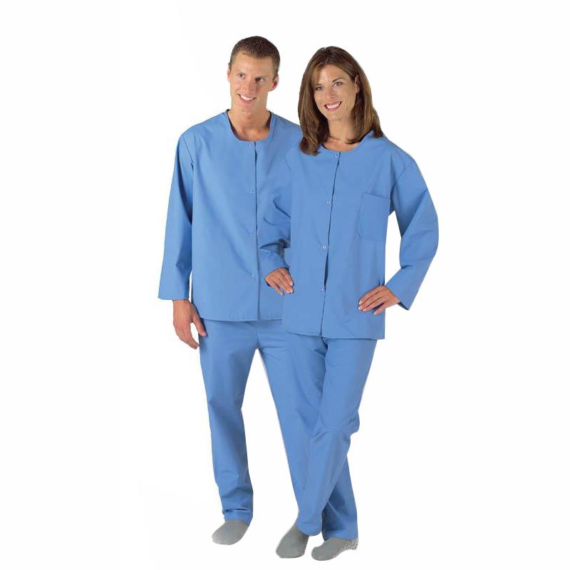 Medline Psychiatric Patient Snap Pajama Pants Patient Wear