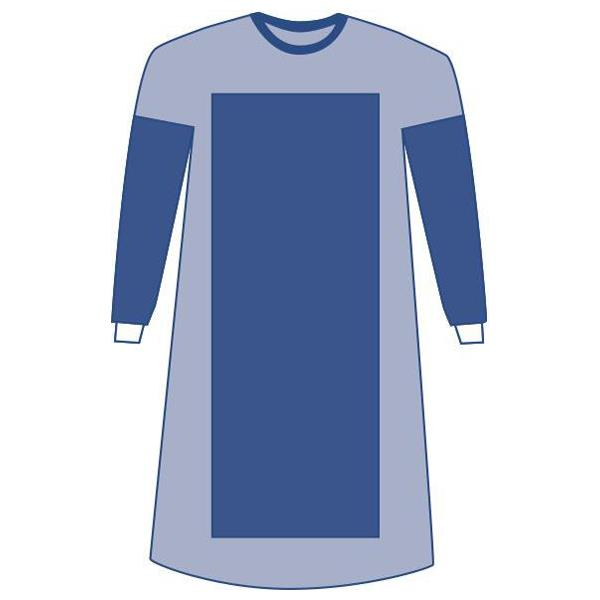 Medline Sterile Poly-Reinforced Extra-Long Eclipse Gowns ...