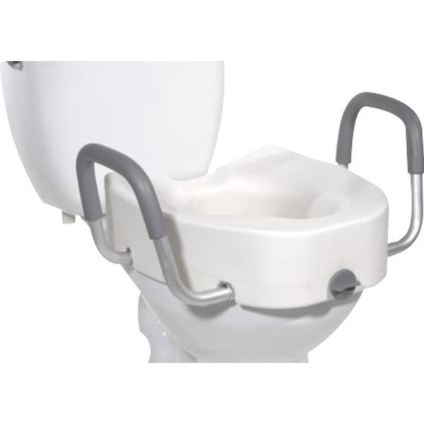 Graham Field Lumex Locking Raised Toilet Seat With