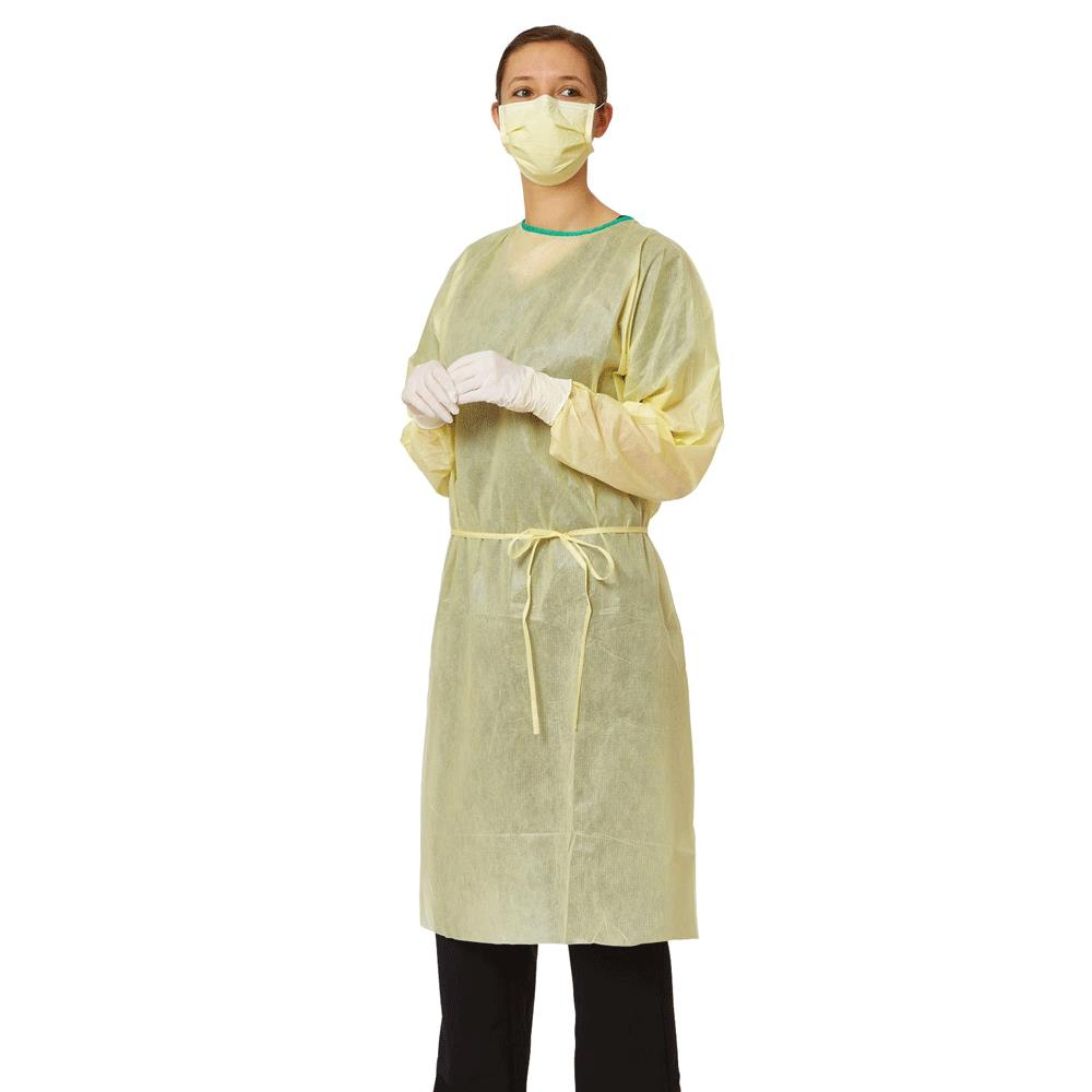 Medline AAMI Level 2 Isolation Gowns | Protective Apparels