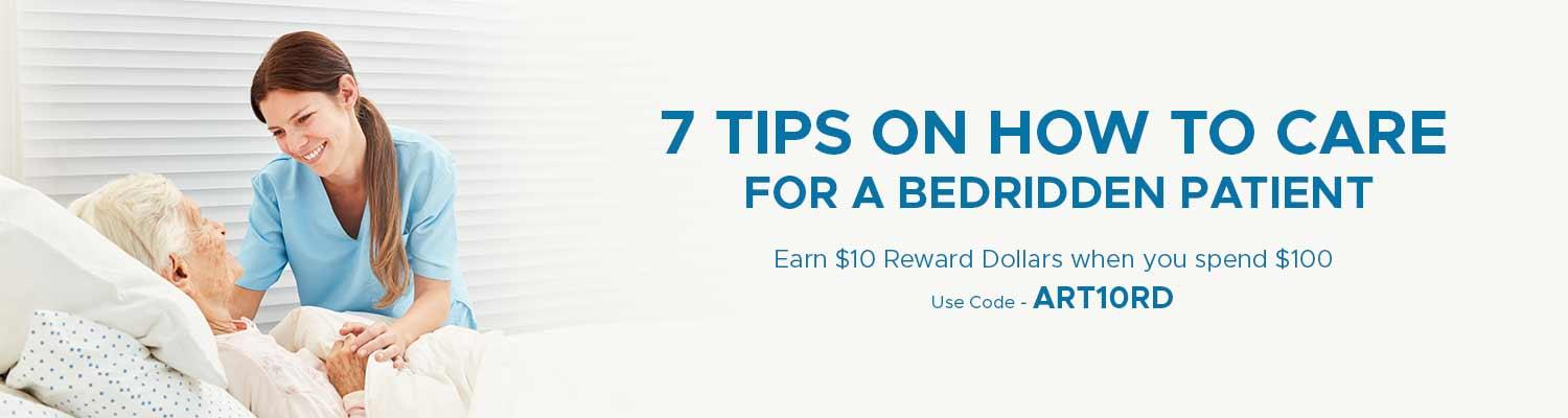 7 Tips on How to Care for a Bedridden Patient