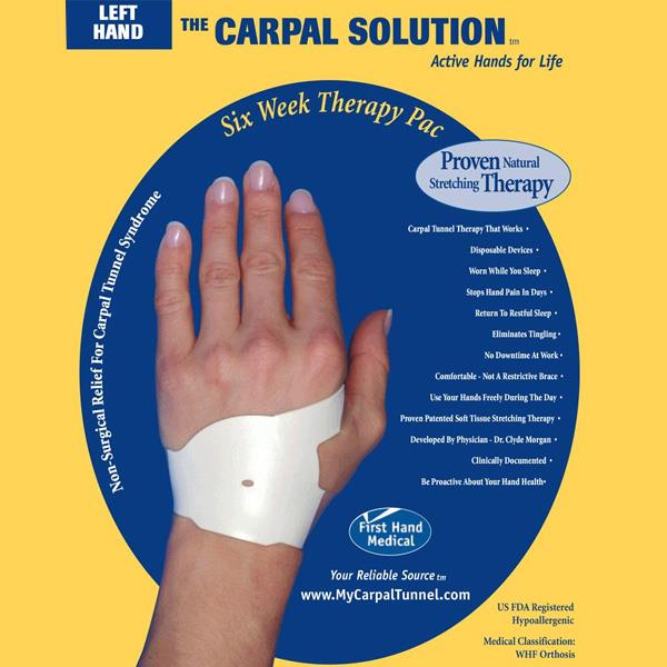 Wrist Arthritis Relief Present Carpel Pain Glove Blue Heating Pad for Hands and Wrists
