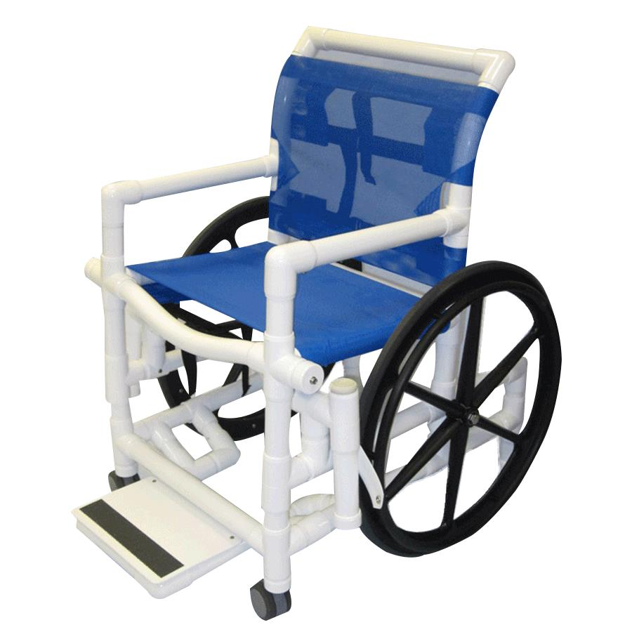 Healthline Medical Shower Wheelchair With Sling Seat
