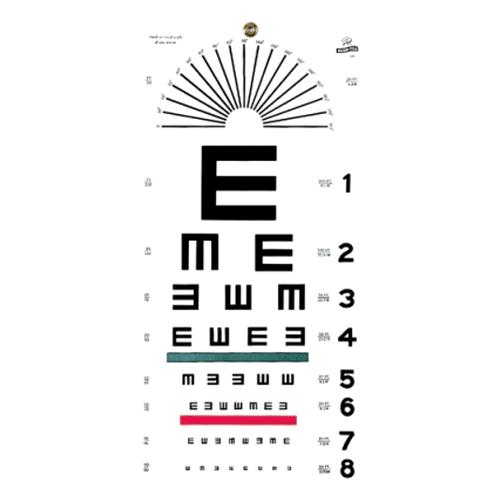 picture relating to Eye Chart Printable titled Graham-Market E Placing Eye Chart