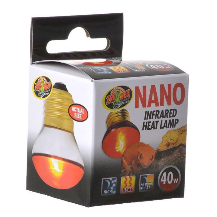 Zoo Med Nano Infrared Heat Lamp Reptile