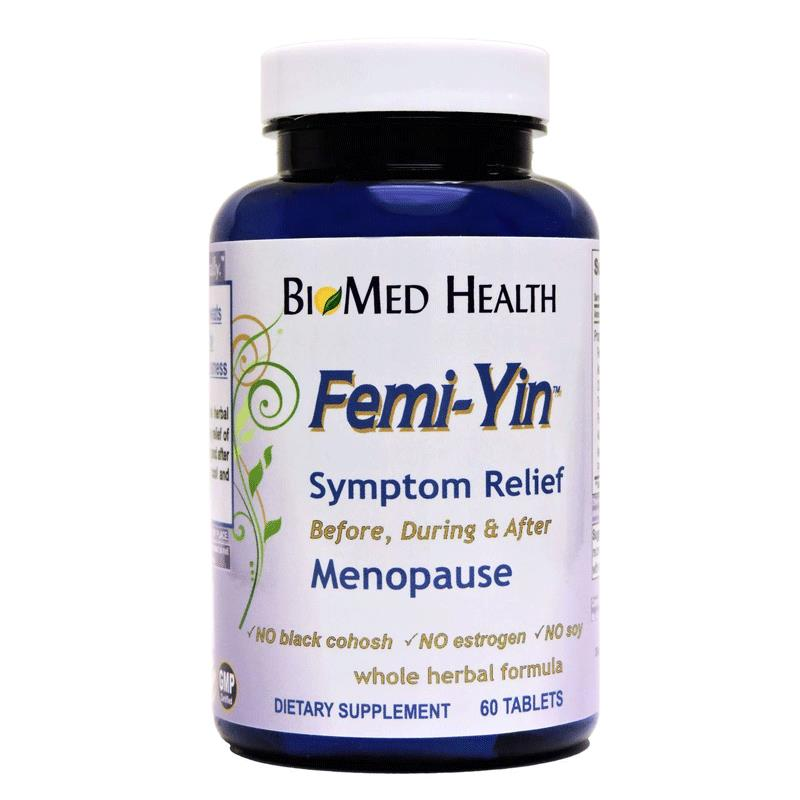 Biomed Health Femi Yin Menopause Supplement | Menopause