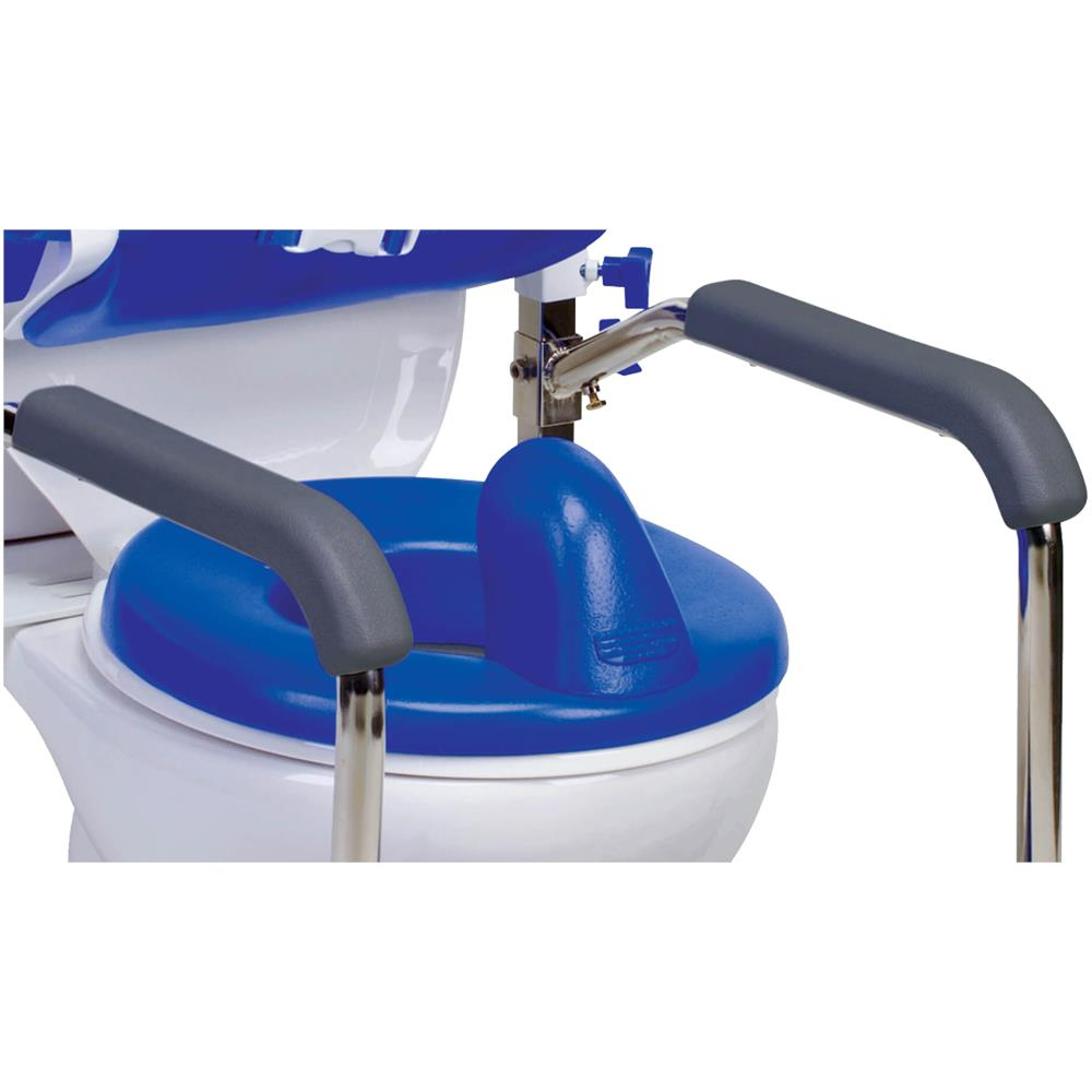 Columbia Hi Back Toilet Support System With Padded Back