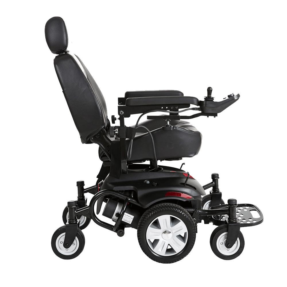 Drive Titan AXS Mid-Wheel Drive Powerchair   Travel/Portable Power ...