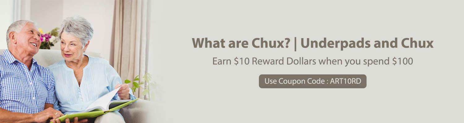 What are Chux?   Underpads and Chux