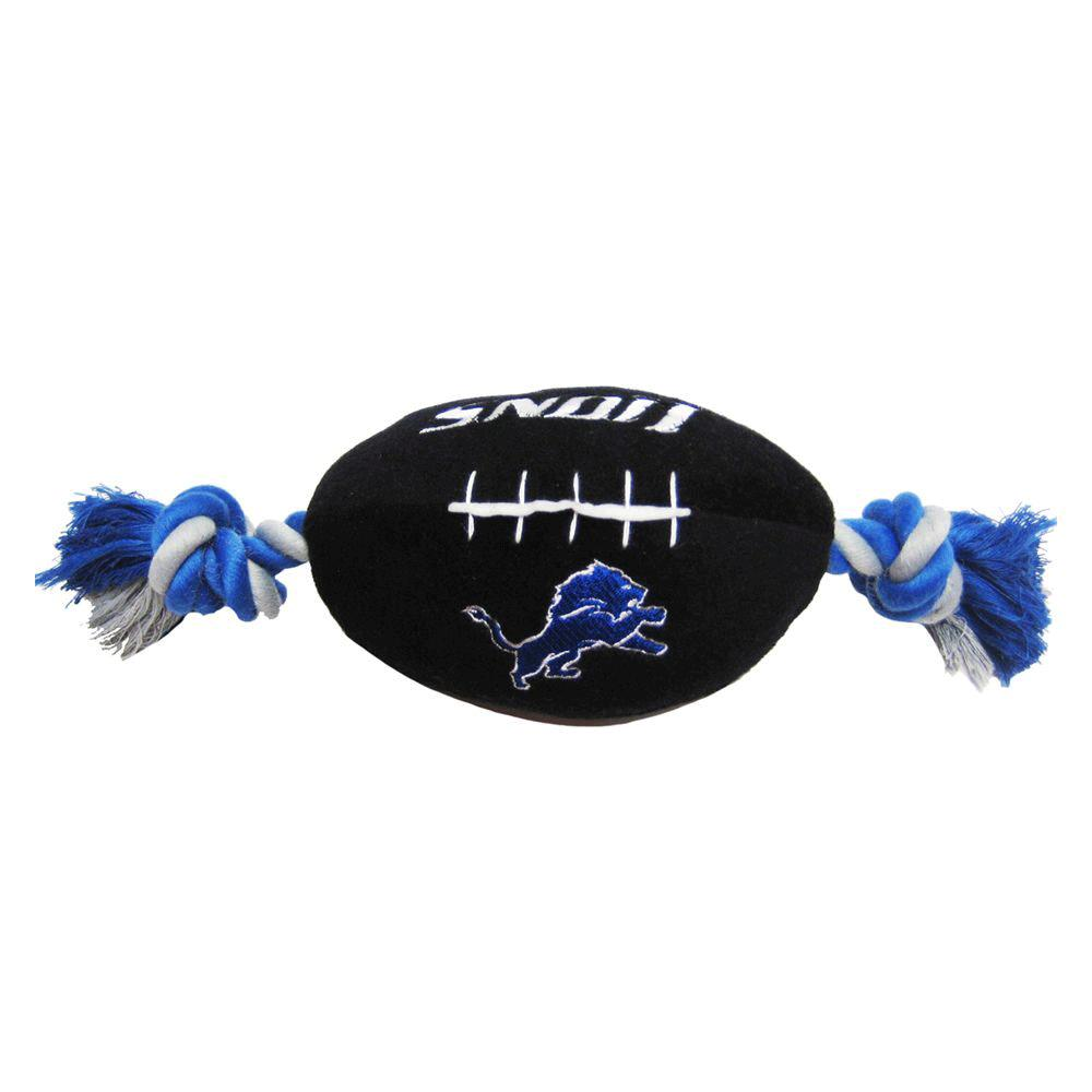 Pets First Detroit Lions Plush Rope Football Dog Toy Pet Toys