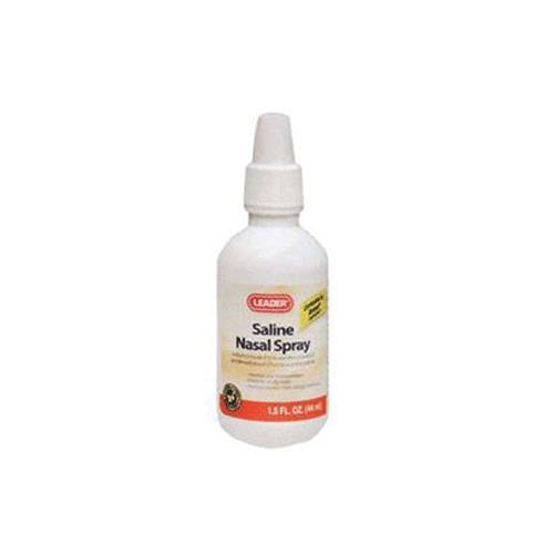 Leader Saline Nasal Spray Allergy Relief