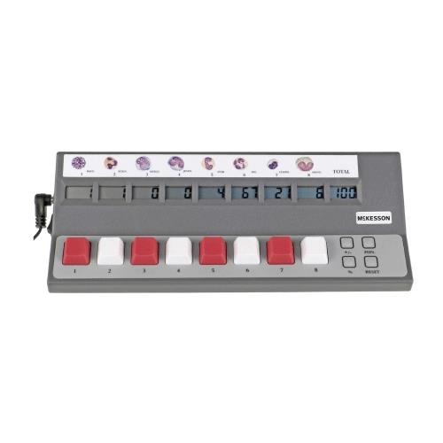 McKesson Digital Differential 8-Key Cell Counter