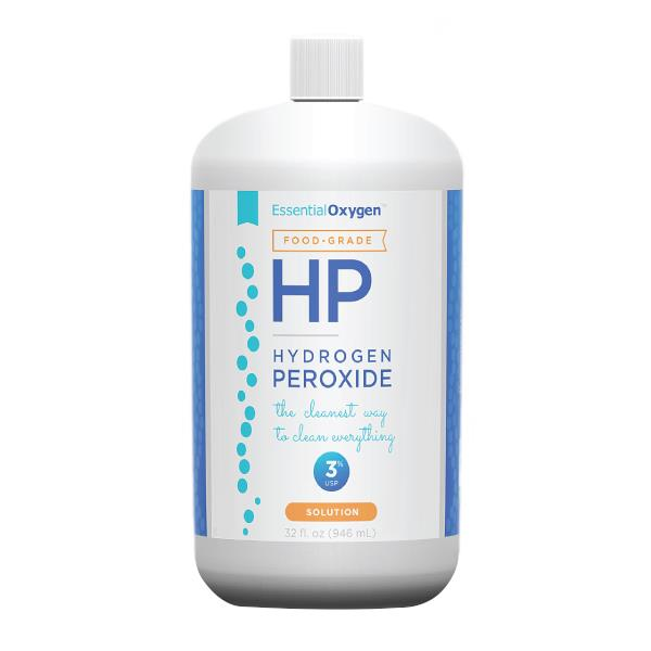 Essential Oxygen 3 Percent Food Grade Hydrogen Peroxide