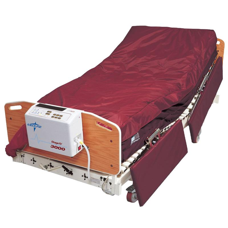 Medline stage iv 3000 mattress all therapy mattress for Bed tech 3000