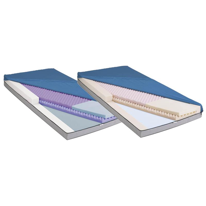 Medline Advantage Select PE Three Layer Foam Mattress