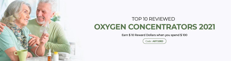 Top 10 Reviewed Oxygen Concentrators 2021