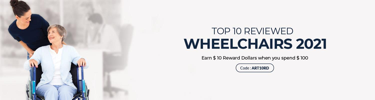 Top 10 Reviewed Wheelchairs 2021