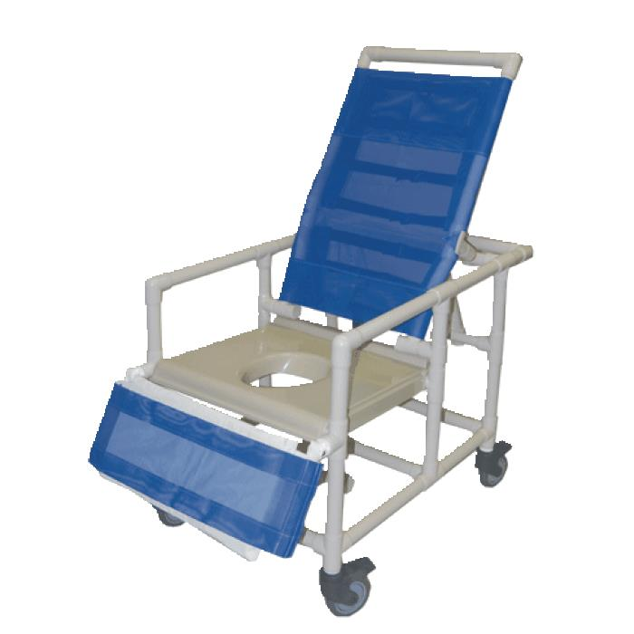 Healthline Bariatric Reclining Shower Commode Chair