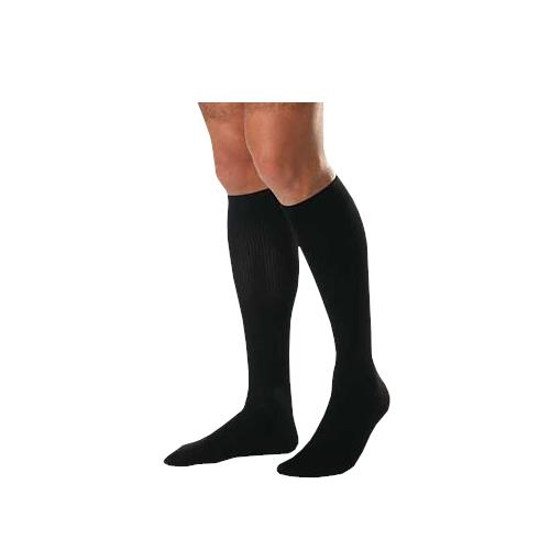 cf678871fa6 BSN Jobst for Men Closed Toe Knee High 20-30 mmHg Ribbed Compression Socks   Beige  Beige  Black  Black ...