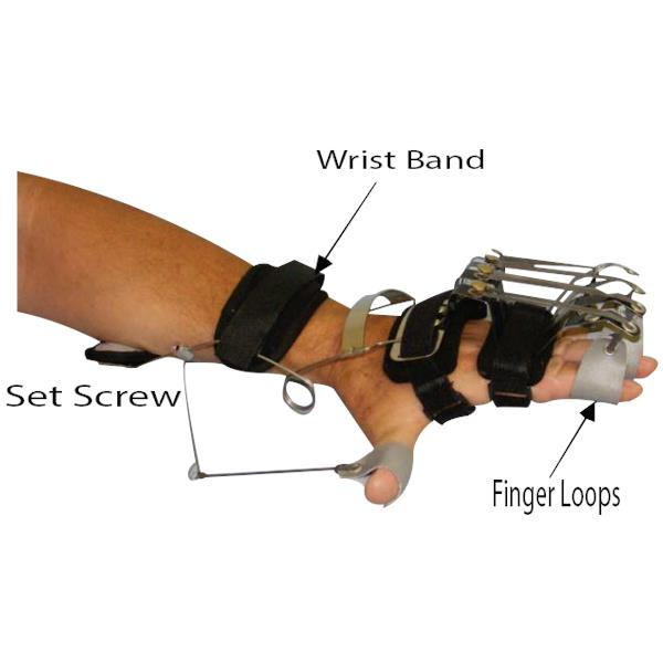 Bunnell Combination Oppenheimer With Dynamic Wrist And Ip