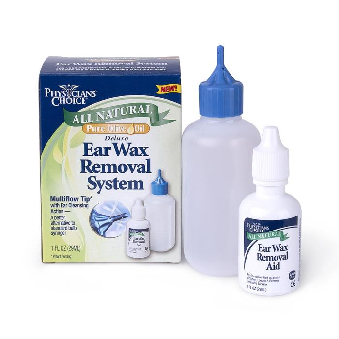 Natural Ear Drops For Wax Removal
