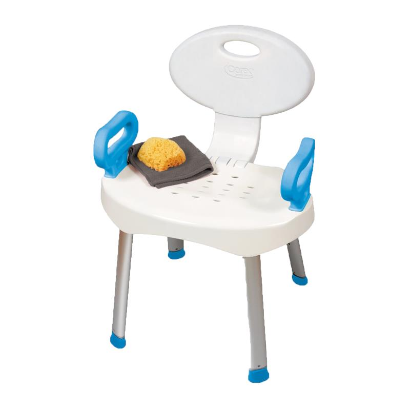 Carex EZ Bath And Shower Chair With Handles