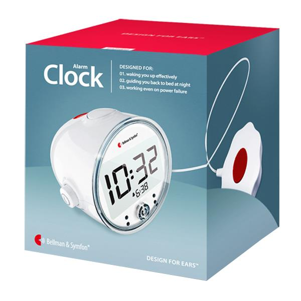 Bellman Pro Vibrating Alarm Clock With Led Flashing Lights