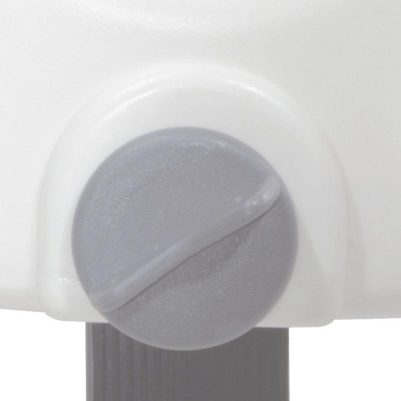 Drive Premium Plastic Elevated Regular Or Elongated Toilet