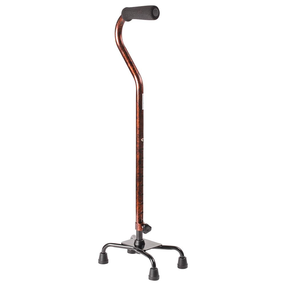 Mabis DMI Small Base Quad Cane - 29.5KB