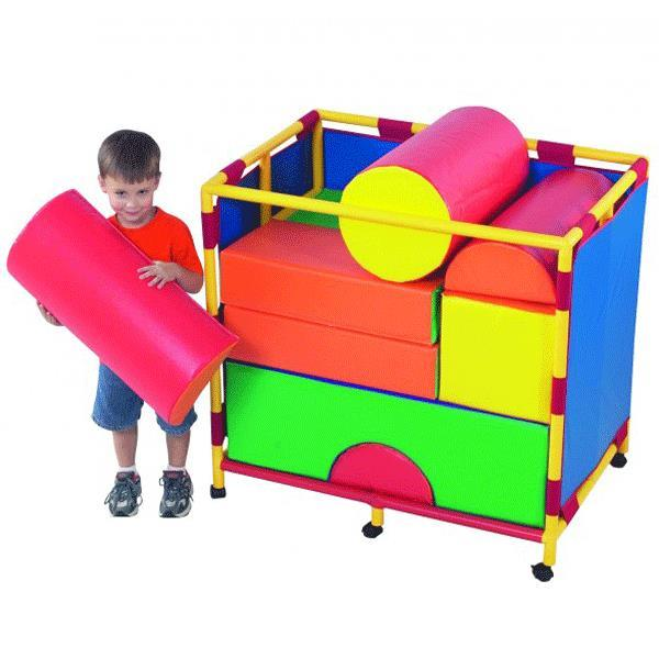 Purchase Childrens Factory Soft Big Block Trolley
