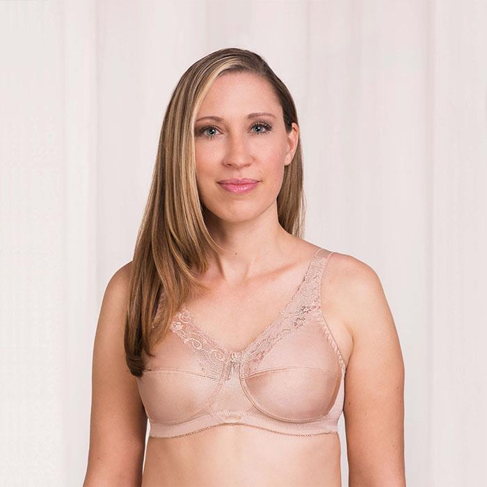 f17232a0905 ... Barbara Accent Softcup Mastectomy Bra - Sandstone ...