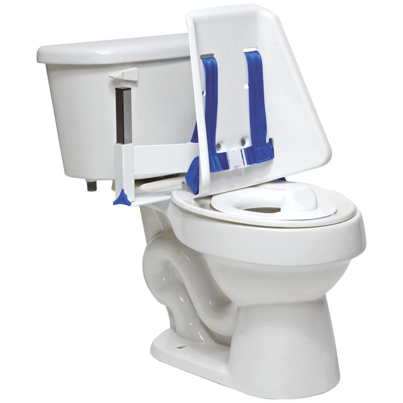 Toilet Support Systems : Columbia hi back toilet support system commodes