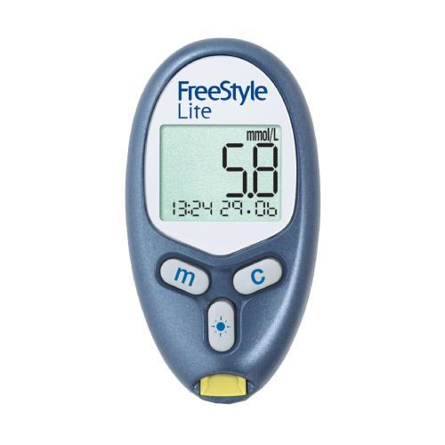 No coding blood glucose meter / for home use freestyle freedom.