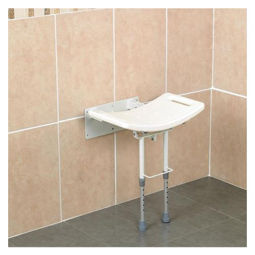 Homecraft Wall Mounted Steel Shower Seat Shower Chairs