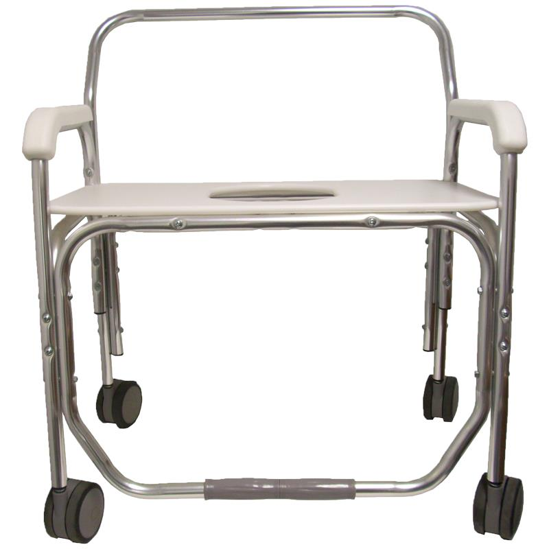 ConvaQuip Bariatric Transport Shower Chair with Bench Seat | Shower ...